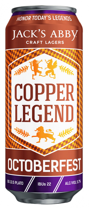 Copper Legend by Jack's Abby Craft Lagers in Massachusetts, United States