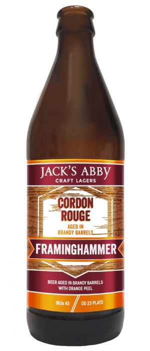 Cordon Rouge Barrel-Aged Framinghammer by Jack's Abby Craft Lagers in Massachusetts, United States