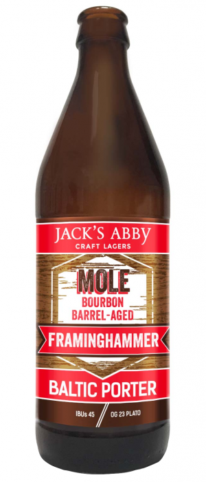 Mole Barrel-Aged Framinghammer by Jack's Abby Craft Lagers in Massachusetts, United States