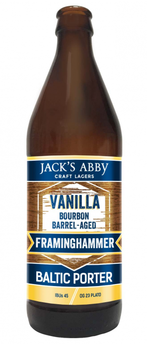 Vanilla Barrel-Aged Framinghammer by Jack's Abby Craft Lagers in Massachusetts, United States