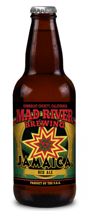Jamaica Red Ale by Mad River Brewing in California, United States