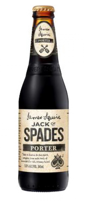 Jack of Spades Porter by James Squire in New South Wales, Australia