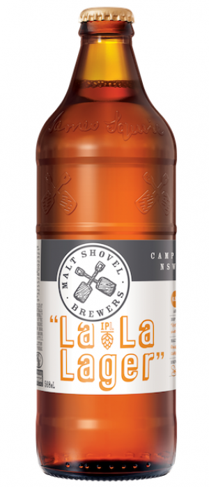 La La Lager by James Squire in New South Wales, Australia