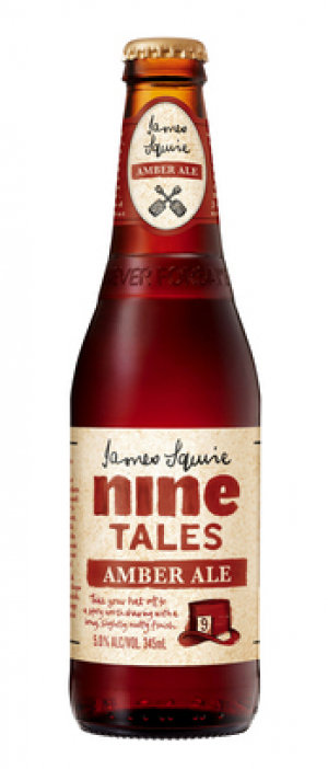 Nine Tales Amber Ale by James Squire in New South Wales, Australia