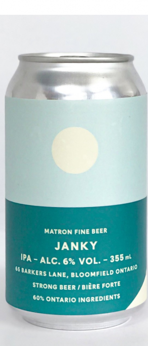 Janky by Matron Fine Beer in Ontario, Canada