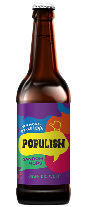 Populism-Random Hops by Jaws Brewery in Ural Federal District, Russia