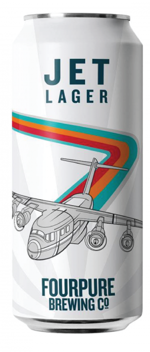 Jet Lager by Fourpure Brewing Co. in London - England, United Kingdom