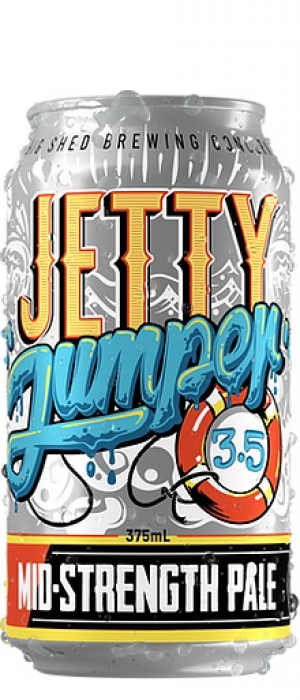 Jetty Jumper by Big Shed Brewing Co. in South Australia, Australia