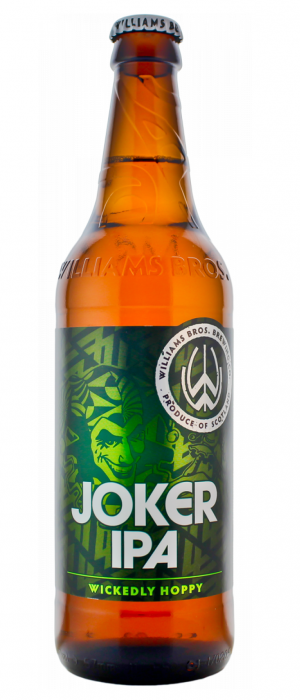 Joker IPA by Williams Bros. Brewing Co. in Clackmannanshire - Scotland, United Kingdom