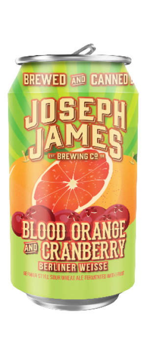 Blood Orange And Cranberry by Joseph James Brewing Company in Nevada, United States
