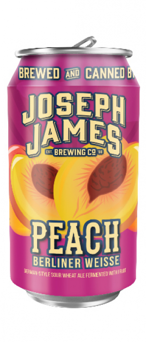 Peach by Joseph James Brewing Company in Nevada, United States