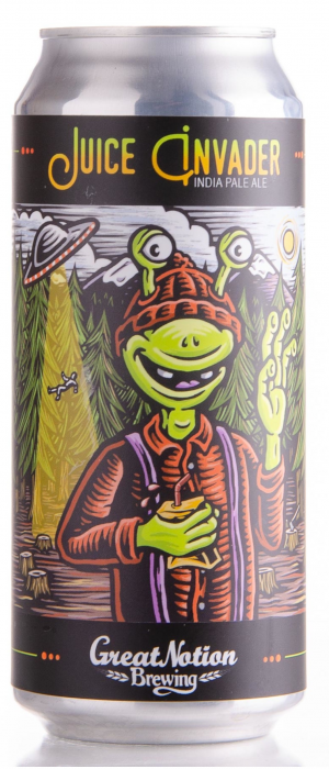 Juice Invader by Great Notion Brewing in Oregon, United States