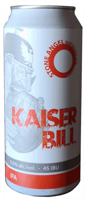 Kaiser Bill by Stone Angel Brewing Co. in Manitoba, Canada
