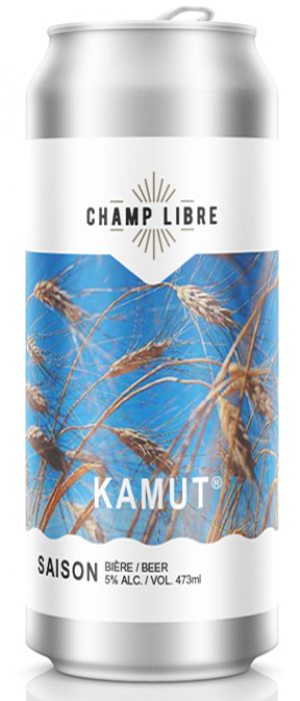 Kamut by Champ Libre Brasserie & Distillerie in Québec, Canada
