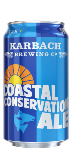 Coastal Conservation Ale by Karbach Brewing Company in Texas, United States