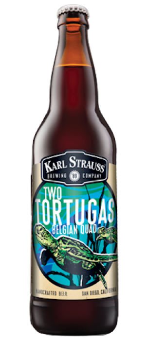 Two Tortugas by Karl Strauss Brewing Company in California, United States
