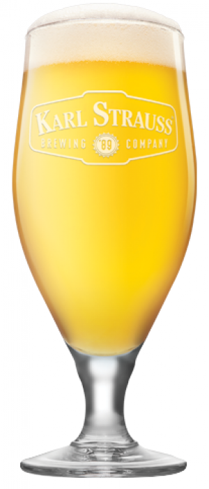 Windansea Wheat by Karl Strauss Brewing Company in California, United States