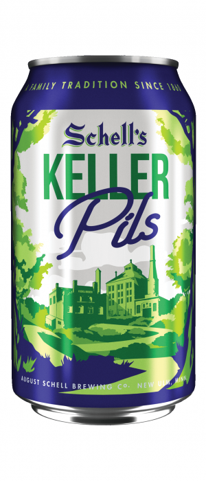 Keller Pils by August Schell Brewing Company in Minnesota, United States