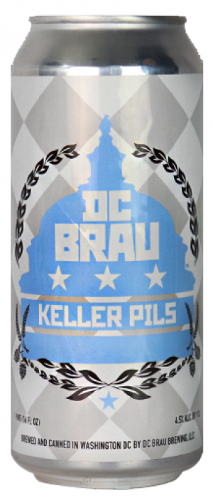 Keller Pils by DC Brau Brewing Company in District of Columbia, United States