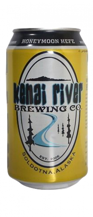 Honeymoon Hefe by Kenai River Brewing Company in Alaska, United States