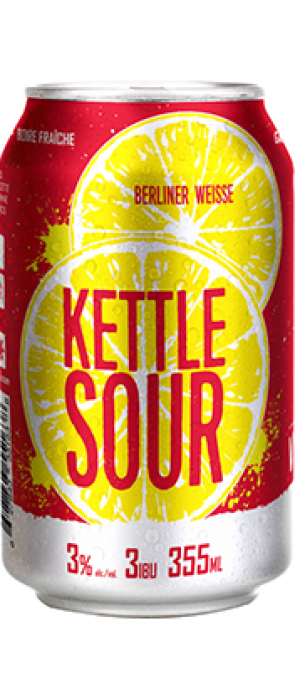 Kettle Sour Brunch Berliner Weisse by Microbrasserie Vox Populi in Québec, Canada