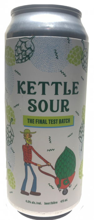 Kettle Sour: The Final Test Batch by Blindman Brewing in Alberta, Canada