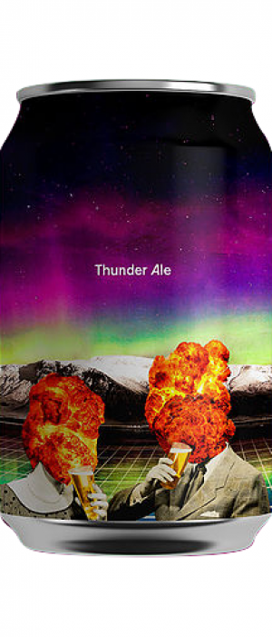 Thunder Ale by Kex Brewing in Capital, Iceland