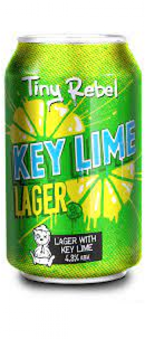 Key Lime Lager by Tiny Rebel in Gwent - Wales, United Kingdom