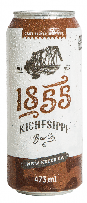 1855 by Kichesippi Beer Company in Ontario, Canada