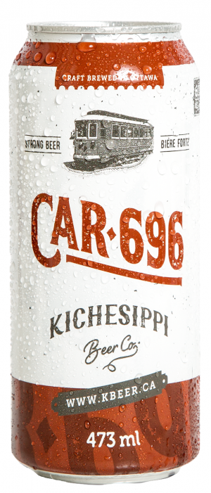 Car 696 by Kichesippi Beer Company in Ontario, Canada