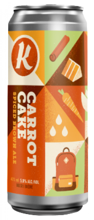 Carrot Cake by Kichesippi Beer Company in Ontario, Canada