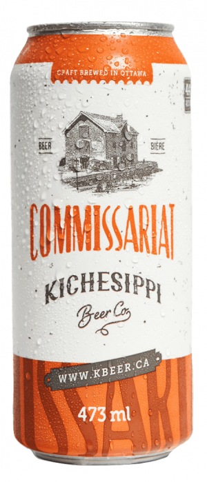 Commissariat by Kichesippi Beer Company in Ontario, Canada