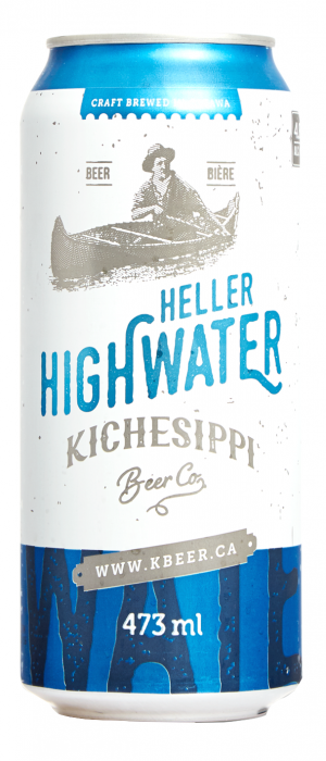 Heller Highwater by Kichesippi Beer Company in Ontario, Canada
