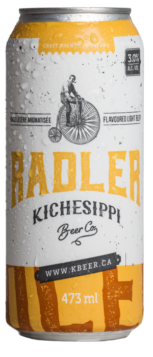 Radler by Kichesippi Beer Company in Ontario, Canada