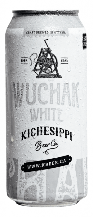 Wuchak White by Kichesippi Beer Company in Ontario, Canada