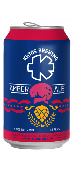 KiiTOS Amber Ale by Kiitos Brewing in Utah, United States