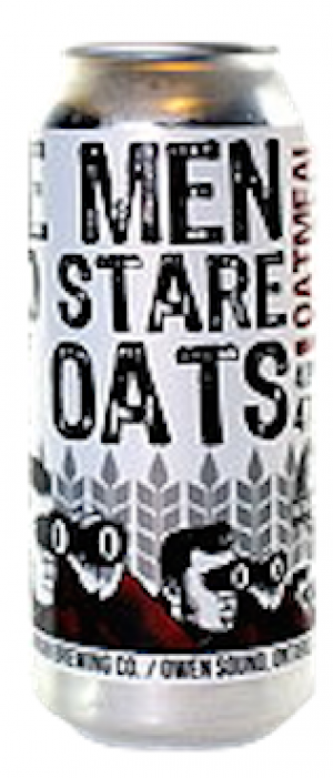 The Men Who Stare At Oats by Kilannan Brewing Company in Ontario, Canada