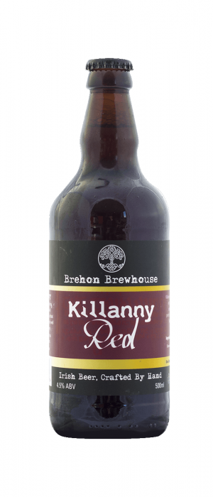 Killanny Red Ale by Brehon Brewhouse in Munster, Ireland