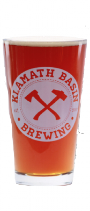 Crater Lake Amber Ale by Klamath Basin Brewing Company in Oregon, United States