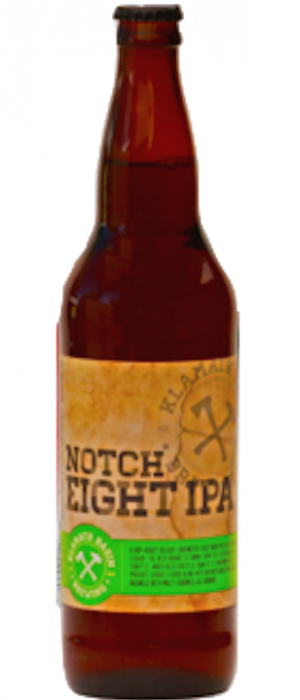 Notch Eight IPA by Klamath Basin Brewing Company in Oregon, United States