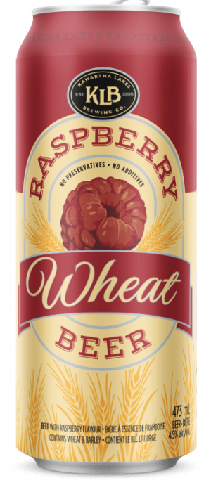 KLB Raspberry Wheat by The Publican House Brewery in Ontario, Canada