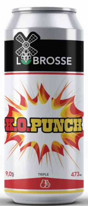 K.O. Punch by Microbrasserie Labrosse in Québec, Canada