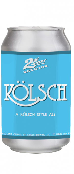 Kölsch by 2nd Shift Brewing in Missouri, United States
