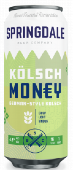 Kölsch Money by Springdale Beer Company in Massachusetts, United States