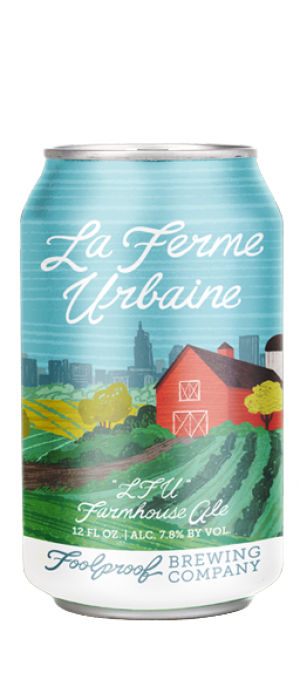 La Ferme Urbaine by Foolproof Brewing Company in Rhode Island, United States