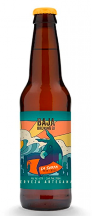 La Surfa by Baja Brewing Company in Baja California Sur, Mexico