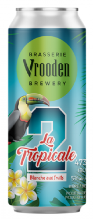 La Tropicale 2 by Brasserie Vrooden in Québec, Canada