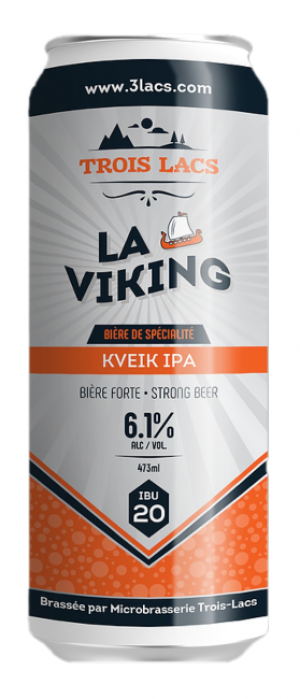 La Viking by Three Lakes Microbrewery (Microbrasserie Trois Lacs) in Québec, Canada