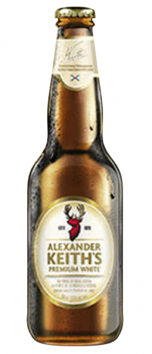 Alexander Keith's Premium White by Alexander Keith's Brewery in Nova Scotia, Canada