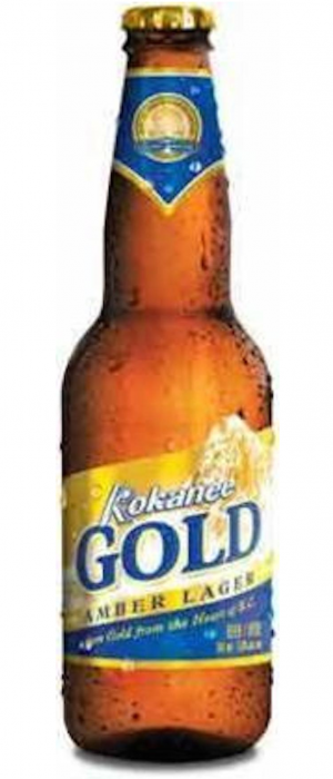 Kokanee Gold by Labatt Breweries of Canada in Ontario, Canada